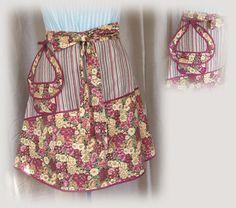 Flower Garden kitchen apron