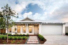 Ideas For House Facade Single Story Hamptons Hamptons House, The Hamptons, Dutch Gable Roof, Facade Design, House Design, Exterior Design, Facade House, House Facades, House Exteriors