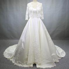 Aliexpress.com : Buy 100% Same Real Photo HI Q Satin Lace Beaded Pearl Special…