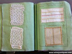 "Two Nerdy History Girls: An 1835 Workbook of Needlework ""Specimens"""