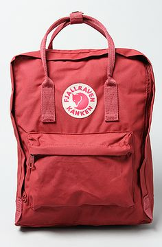 The Kanken Backpack in Ox Red by Fjallraven - $75 - 20% off with rep code SHANE20 #gift #karmaloop #backpack