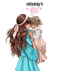 Reminds me of my daughter and I when she was younger. Mother And Daughter Drawing, Mother Daughter Quotes, Mother Art, Mom Daughter, Mother And Child, Daughters, Mommys Girl, My Baby Girl, Arte Fashion