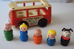 Fisher Price Little People mini-bus
