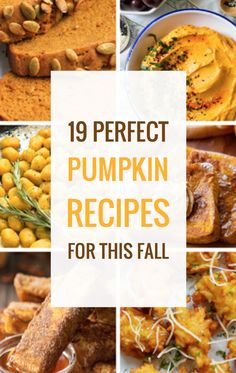 19 Perfect Pumpkin Recipes for This Fall