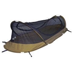 Coyote Brown BedNet Solo Tent - Catoma Outdoor. Military tested. Watch the video. So cool!