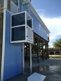 Wheelchair ramp plans available online for the garage for Beach house lifts