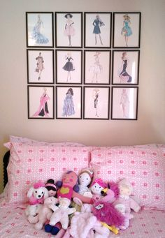 Robert Best Barbie prints