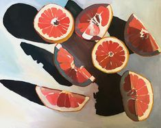 Grapefruit / Erika Lee Sears The post Grapefruit / Erika Lee Sears appeared first on Kunst. Art Inspo, Kunst Inspo, Painting Inspiration, Art And Illustration, Art Sketches, Art Drawings, Pencil Drawings, Bel Art, Posca Art