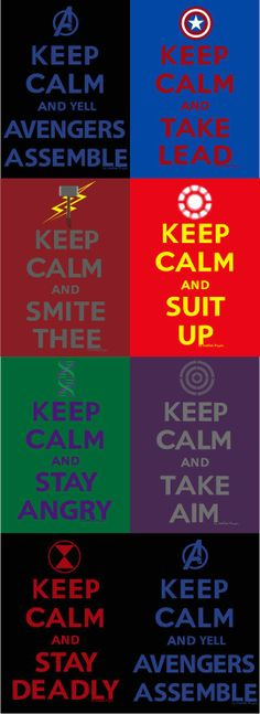 keep calm... some are better than others