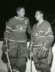 Jean Beliveau & Gilles Tremblay