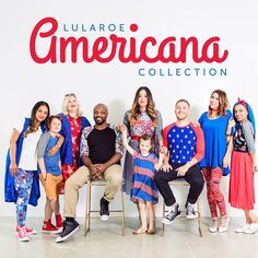 """3,250 Likes, 58 Comments - LuLaRoe (@lularoe) on Instagram: """"Let's get this summer started with a BANG! We're so proud to announce the LuLaRoe Americana…"""""""