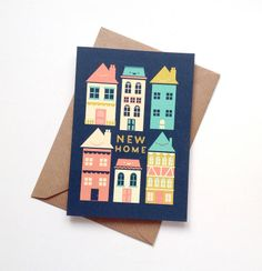New house card | greeting cards | new home card