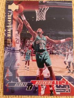 UPPER DECK 1994 USA BASKETBALL - 46 - ALONZO MOURNING