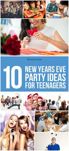 Top 10 New Years Eve Party Ideas For #Teenagers :we have compiled ten celebration ideas that will keep the teens occupied on New Year's Eve.