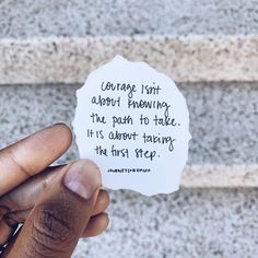 """JOURNEYSTRENGTH on Instagram: """"👁🗨 @lawofattractionmanifesting: """"It is that first step, the commitment to the path, that takes courage. Making the decision to take an…"""""""
