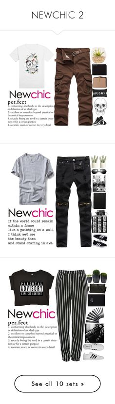 """""""NEWCHIC 2"""" by holy-k16 ❤ liked on Polyvore featuring Topshop, Mulberry, men's fashion, menswear, adidas NEO, Allstate Floral, Glamorous, adidas, Joshua's and Sunnylife"""