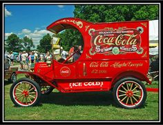 1915 Ford Model T C Cab Panel Delivery