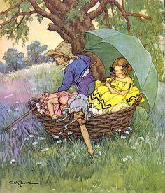 Child's Garden of Verses-C. M. Burd