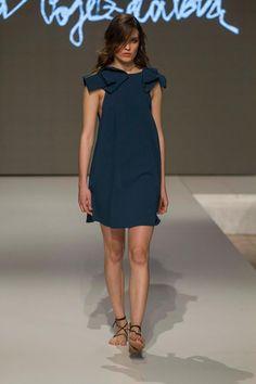 Collection of Andrea Pojezdálová presented during Fashion LIVE! Cold Shoulder Dress, Live, Collection, Dresses, Fashion, Gowns, Moda, La Mode, Dress