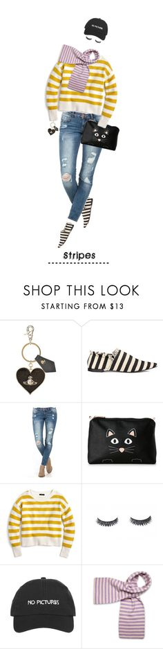 """""""Stripes.... (Dedicated Set)"""" by idocoffee ❤ liked on Polyvore featuring Vivienne Westwood, Stella & Max, J.Crew, stripes, polyvoreeditorial and BoldStripes"""