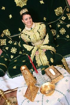 <3 Style Marocain, Moroccan Wedding, Lady, Egypt, Brides, Photograph, Dresses, Fashion, Women