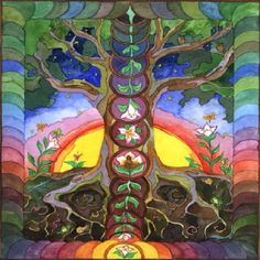 """""""Peace isn't an experience free of challenges, free of rough and smooth, it's an experience that's expansive enough to include all that arises without feeling threatened. """" Pema Chodron - Artist: Elizabeth Lyle #inspirationalquotes"""