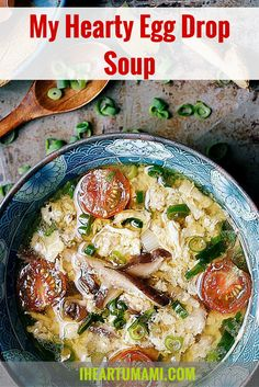 Hearty Chinese Egg Drop Soup