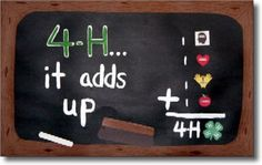 4-h it all adds up