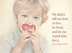 Awww make a daddy's heart melt