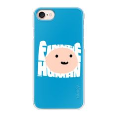 Adventure Time | Finn The Human (blue) - iPhone 7 Case And Cover ($35) ❤ liked on Polyvore featuring accessories, tech accessories, iphone case, apple iphone case, iphone cases, blue iphone case, slim iphone case and iphone cover case