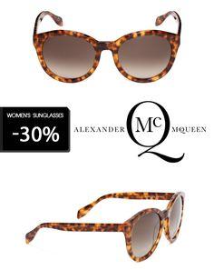 """Alexander McQueen su OcchialiGraduati.com """"Spedizione Gratuita"""" - """"Occhiali da Sole Donna -30%""""  #alexandermcqueen #shopping #style #ss2014 #summer #fashion #glassesonline #men #woman  http://bit.ly/1f6Hf96"""