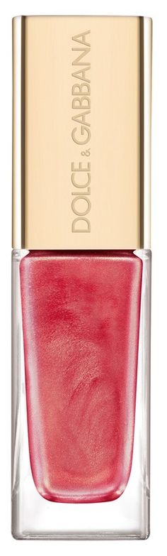 DolceGabbana nail lacquer. Love this pink!