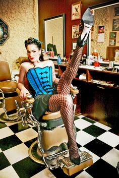 barber chair rocks...