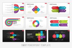 SWOT Infographic Powerpoint - Presentations #analysis #swot