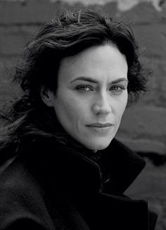 Maggie Siff photographed by Betina La Plante for The Fall