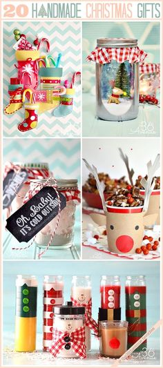 Handmade Christmas Gifts that everyone will love!