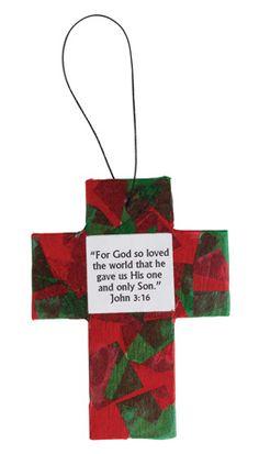 Cross ornament