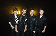 George, Josh, Jaymi & JJ from Union J