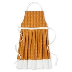 Pleated Skirt Apron Orange - Threshold™ : Target