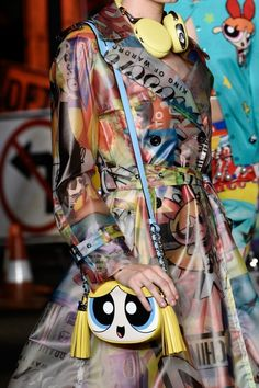 Bubbles! Power Puff Girls are coming back! moschinopuff 2016 Spring Collection