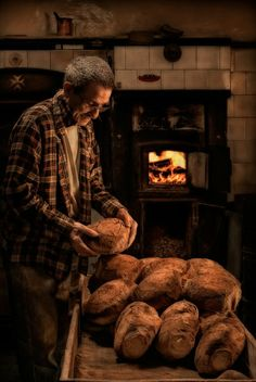 A Maltese breadmaker. Maltese bread is absolutely to die for.
