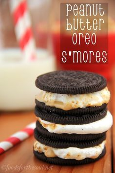 oreo. peanut butter. s'mores.