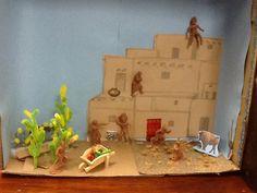 Pueblo indian house project