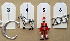 How-to: Ornament Advent calendar