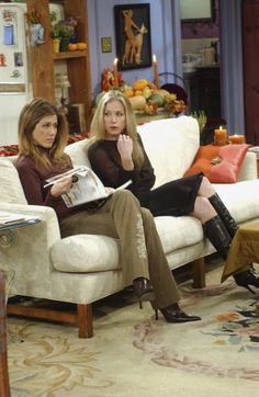 Rachel Green (Jennifer Aniston), Amy Green (Christina Applegate) ~ Friends Episode Stills ~ Season 9, Episode 8: Rachel's Other Sister