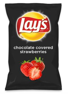 Wouldn't chocolate covered strawberries be yummy as a chip? Lay's Do Us A Flavor is back, and the search is on for the yummiest flavor idea. Create a flavor, choose a chip and you could win $1 million! https://www.dousaflavor.com See Rules.