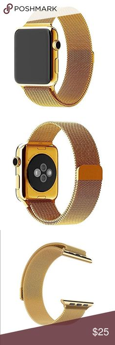 42mm magnetic Milanese Apple Watch Band Brand new 42mm Apple Watch Band with magnetic closure  Top Milanese Loop Stainless Steel Mesh Replacement Band for Apple Watch Series 1 & 2 Accessories Watches