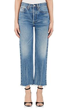 High Rise Stovepipe Jeans #ad