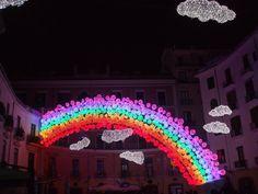 La felicità è un ricordo pieno di colori... Luminarie di Salerno