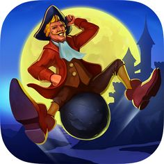The Surprising Adventures of Munchausen is an adventure game comprised of hidden object and mini-games. #Android #App